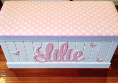 Girls Toy Box 3 & Girls Toy Boxes | Kids Custom Made Toy Boxes Aboutintivar.Com