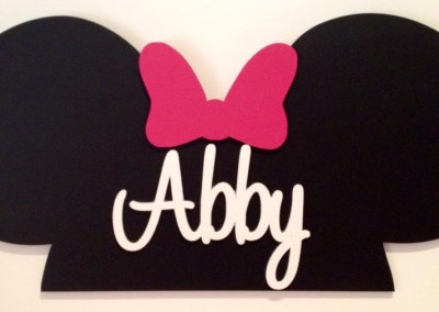 Girls Name Plaque 39