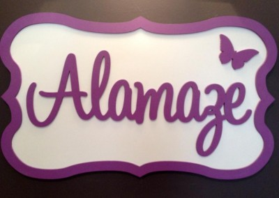 Girls Name Plaque 6