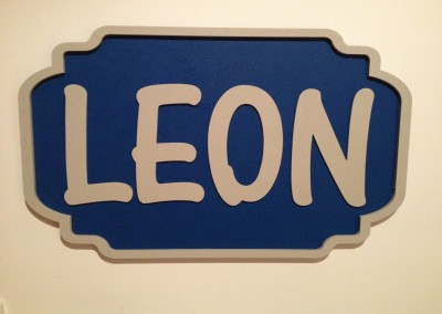 Boys Name Plaque 16