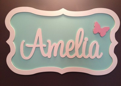 Girls Name Plaque 56