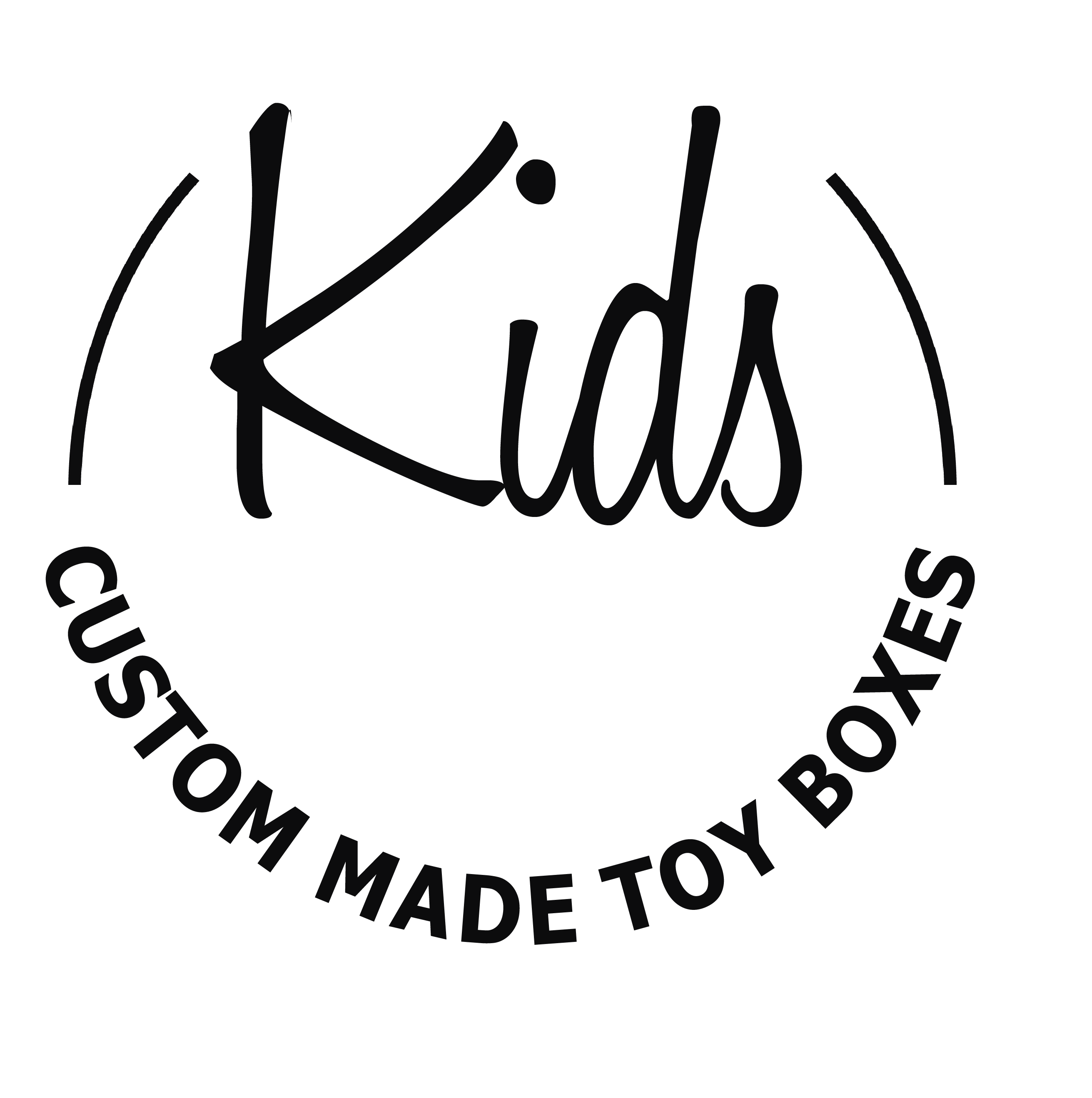 Kids Custom Made Toy Boxes